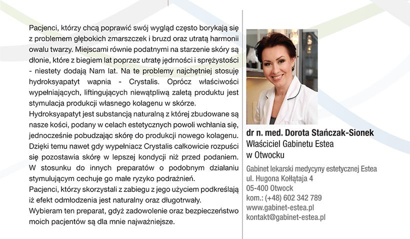 """""""Crystalys"""" Nowy stymulator tkankowy"""